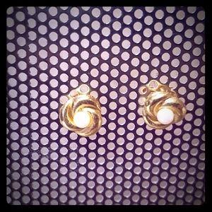 Vintage Avon pierced earrings